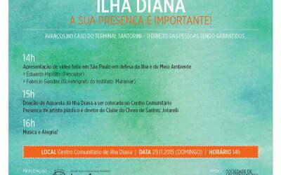 Com música e arte, Ilha Diana torce por um estudo qualificado