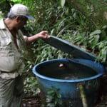 Serra do Guararu recebe projeto Olhos d'água