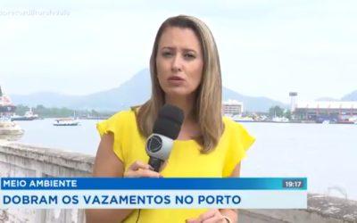 Aumento de vazamentos no Porto de Santos