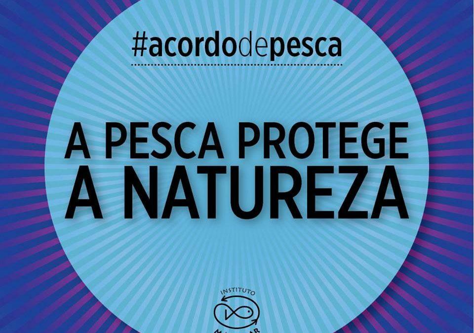 A pesca protege a natureza