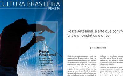 Pesca Artesanal é tema da 1ª edição da revista Cultura Brasileira