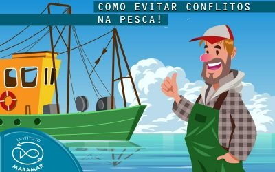 Pelo fim de disputas entre pescadores nas águas brasileiras.