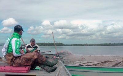 Em defesa das planícies de maré e da pesca.